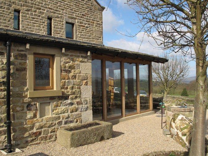 Extension To Barn Addingham Moorside Peter Harrison